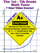 The 1st 7th Grade Math Tutor Dvd Sample 2 Multiplication Problems