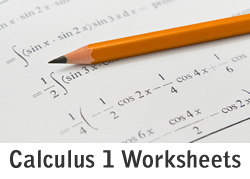 Calculus 1 Limits Worksheets- 150+ Solved Problems w/ Solutions