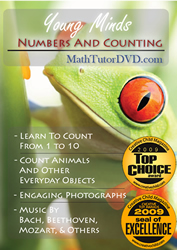 Young Minds Kids DVD - Numbers And Counting (Kids Video)