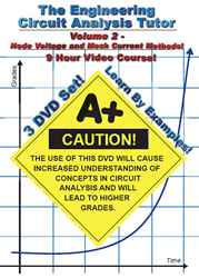 Engineering Circuit Analysis Vol 2 9 Hour Course Node Voltage And Mesh Current Methods