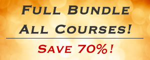 Full Course Bundle -- Save 70%!