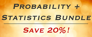 Statistics Course Bundle -- Save 20%!