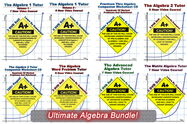 Ultimate Algebra Bundle! -- Save 10%!