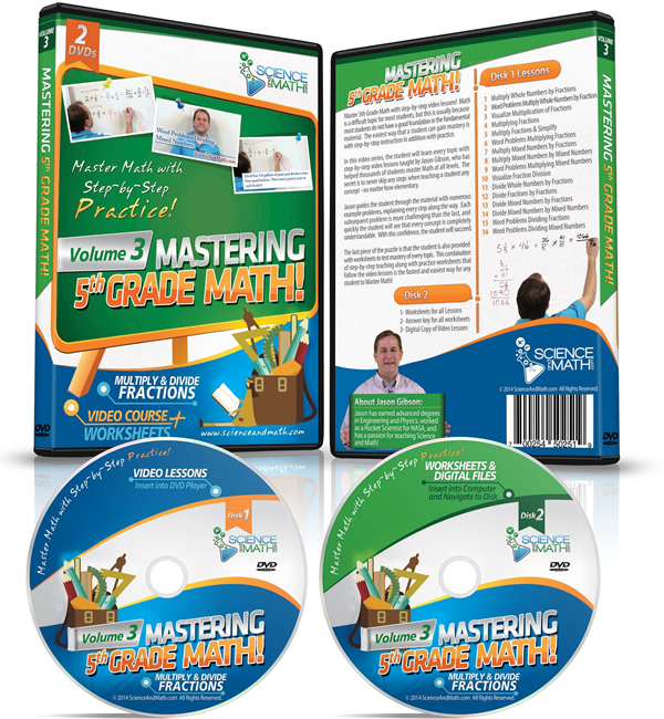 Mastering 5th Grade Math Volume 3 Multiply And Divide